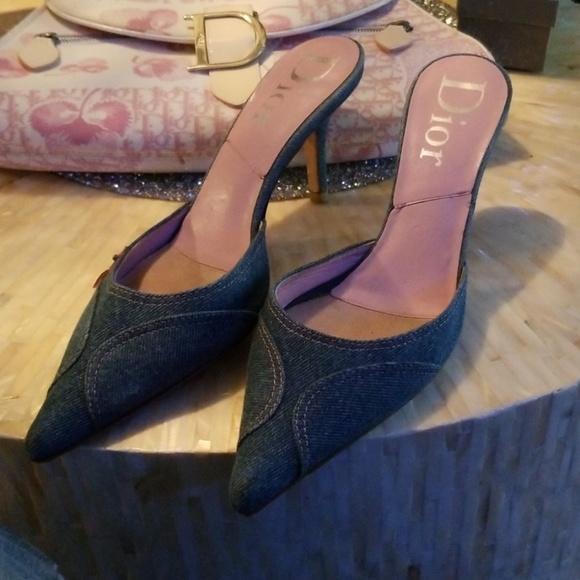 Dior Shoes - 💗💗💗Dior denim ladies shoes 💗💗💗